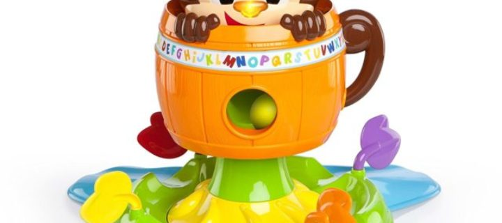 Hide 'n Spin Monkey Toy Review