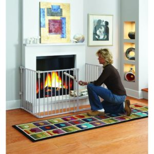 fireplace baby proofing