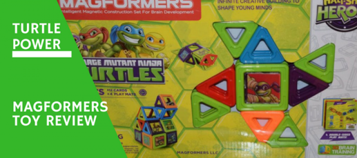 Ninja Turtles Magformers Review