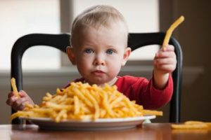 junk food for toddlers