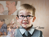 "Older Dads Are Likely To Have ""Geekier"" Sons"