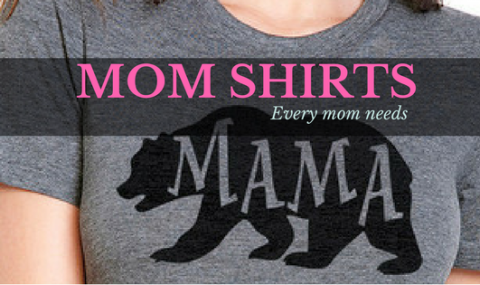 MOM SHIRTS – Mommin' In Style