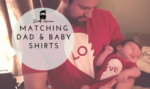 Matching Dad and Baby Shirts