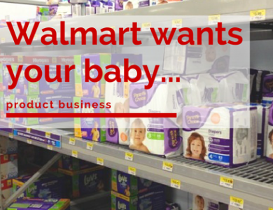 Walmart To Push Their Private Baby Brand